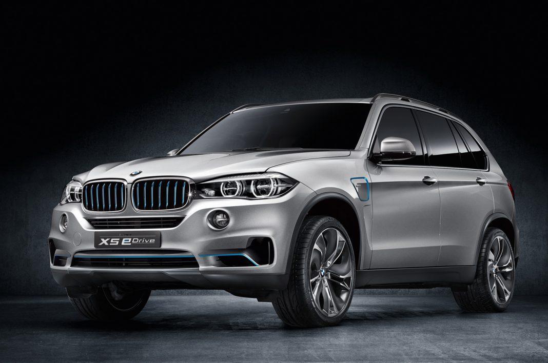 Refined BMW X5 eDrive Heading to New York Auto Show 2014