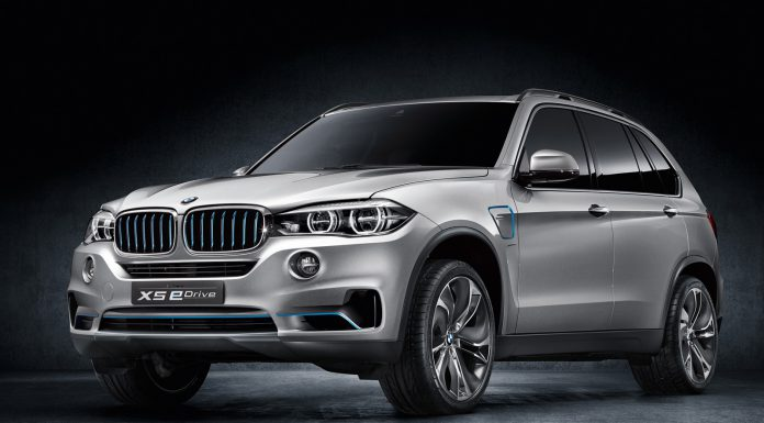 Refined BMW X5 eDrive Heading to New York Auto Show 2014