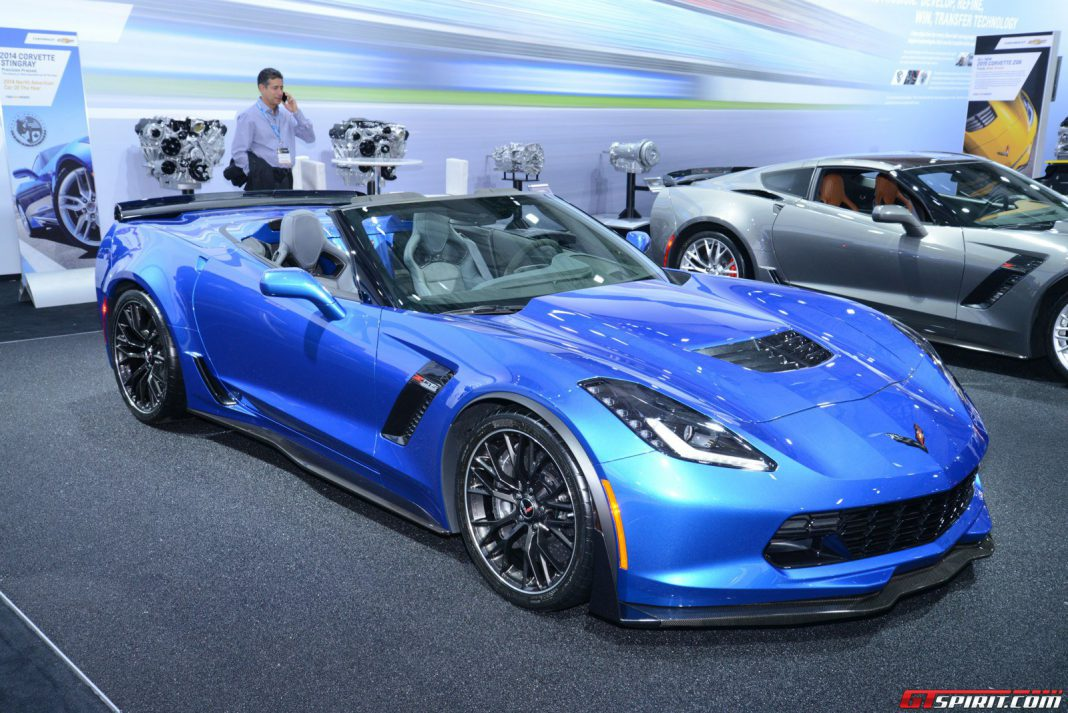 Corvette Z06 Convertible at New York Auto Show 2014