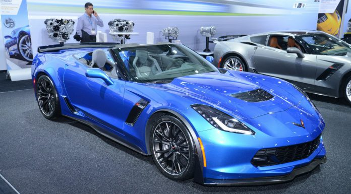Corvette Z06 Convertible at New York Auto Show 2014
