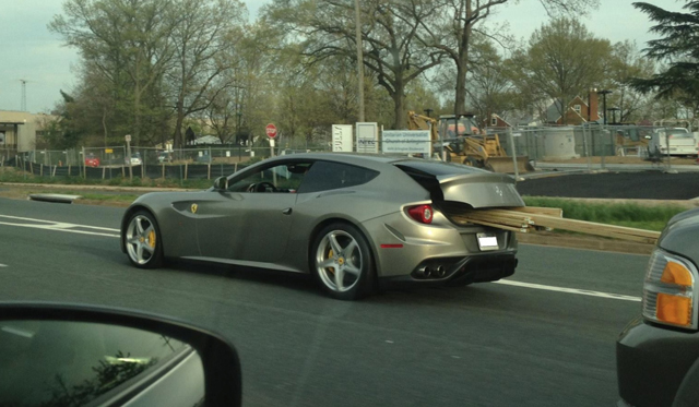 Ferrari FF Spotted in the U.S. Packing Some Wood...