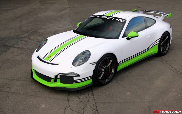 Official: Porsche 991 GT3 by Fostla.de