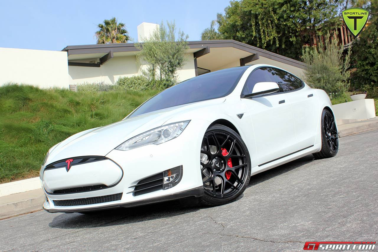Official Tesla Model S Sport Package By T Sportline