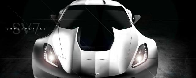 Supervettes Previews C7 Corvette Widebody Kit