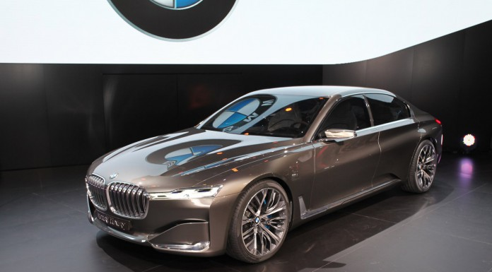 Auto China 2014: BMW Vision Future Luxury Concept