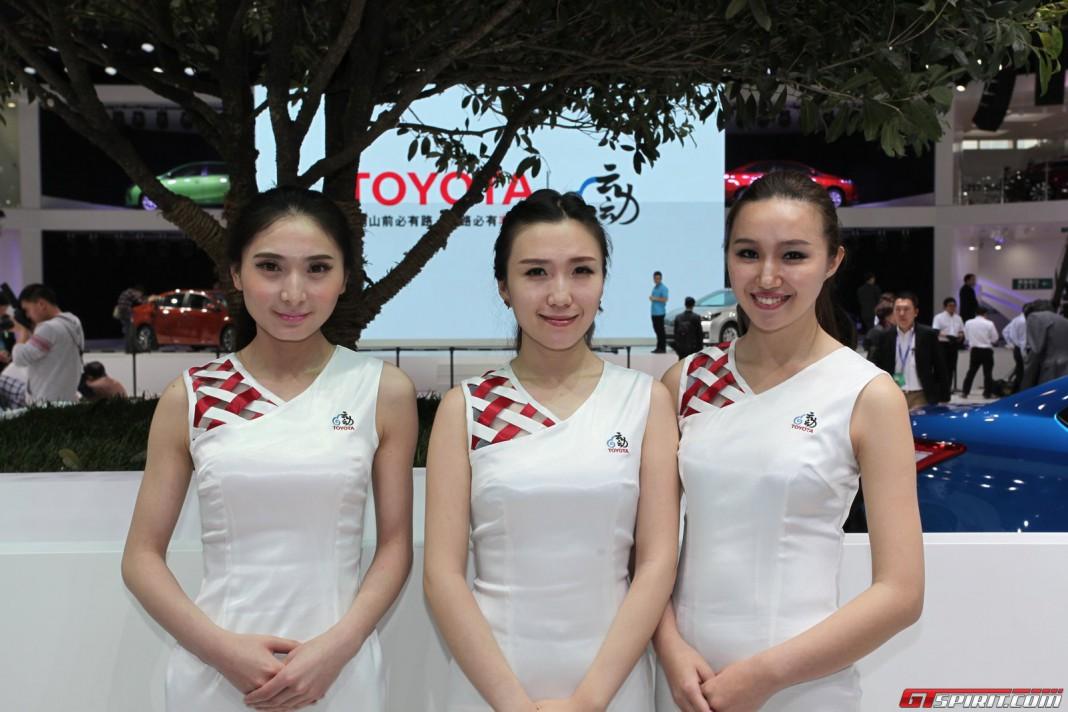 Girls of Beijing Motor Show 2014