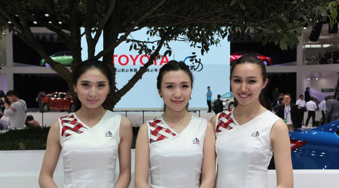 Girls of Beijing Motor Show 2014
