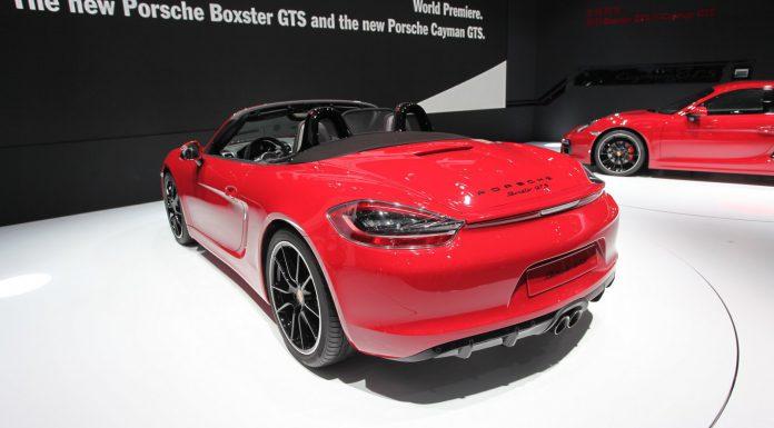 Porsche Boxster GTS at Beijing Motor Show 2014