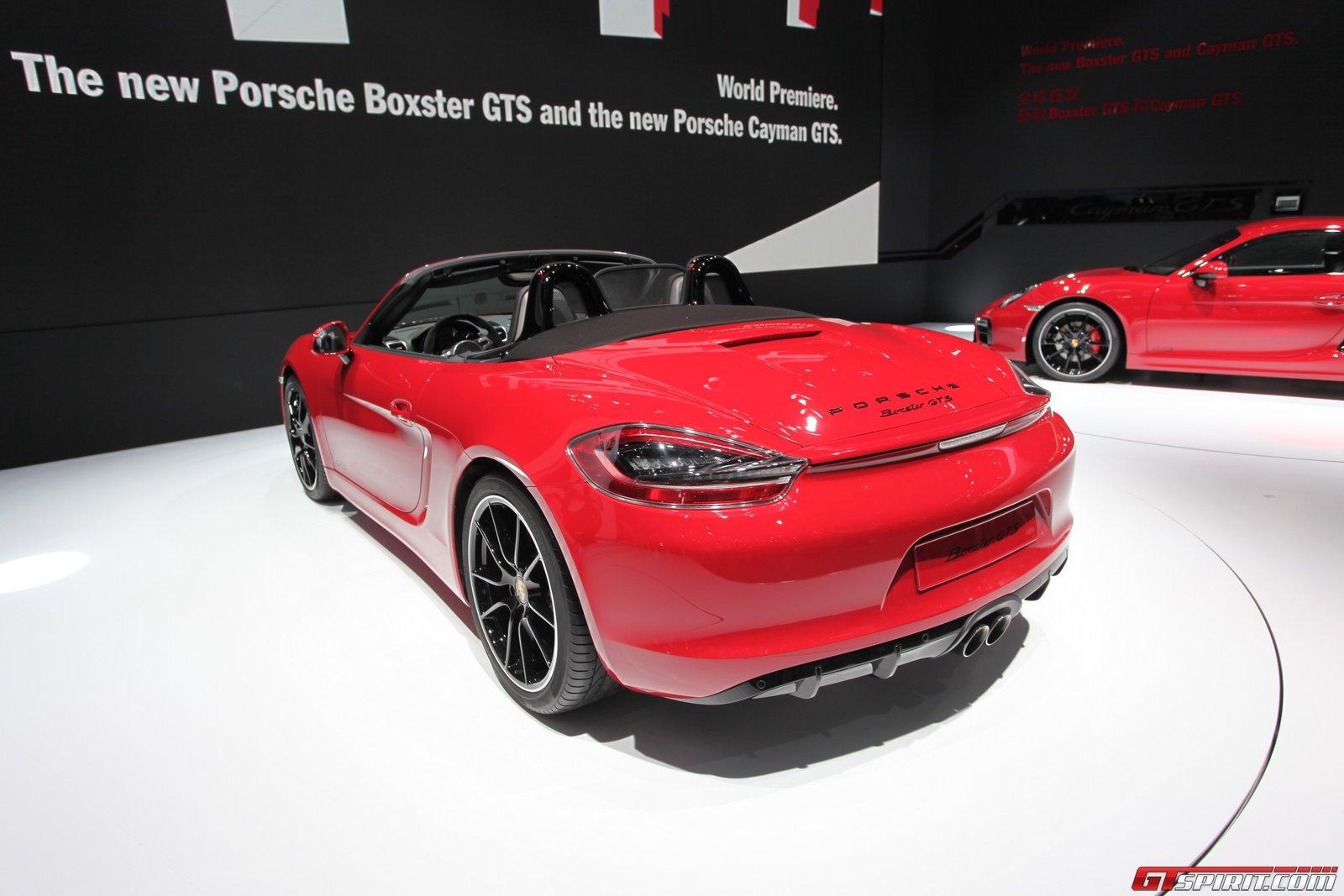 Auto China 2014 Porsche Boxster Gts Gtspirit
