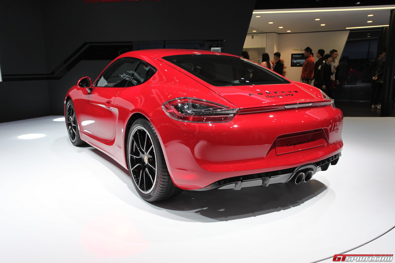 auto china 2014 porsche cayman gts gtspirit. Black Bedroom Furniture Sets. Home Design Ideas