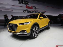 Audi TT Allroad Concept at Beijing Motor Show 2014