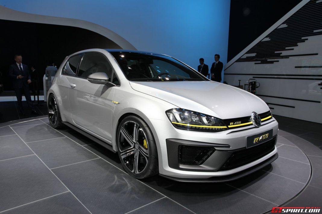 Volkswagen Golf R 400 Concept at Beijing Motor Show 2014