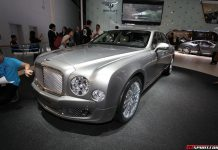Bentley Hybrid Concept at Beijing Motor Show 2014