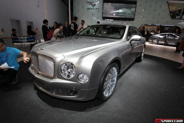 Bentley Hybrid Concept at Beijing Motor Show 2014