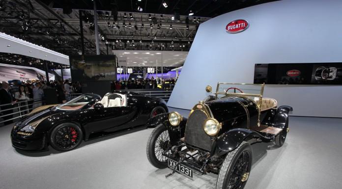 Bugatti Veyron Grand Sport Vitesse Black Bess at Beijing Motor Show 2014