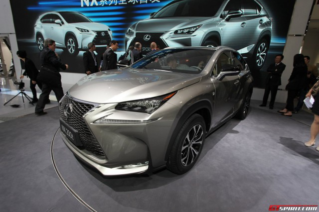 Lexus NX at the Beijing Motor Show 2014
