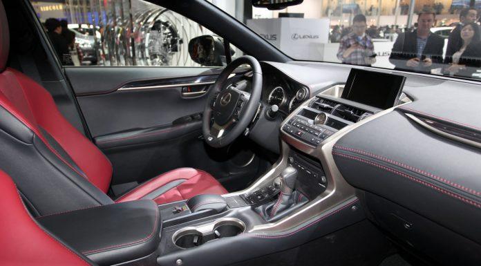 Lexus NX at the Beijing Motor Show 2014