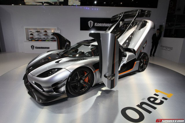 Auto China 2014 Koenigsegg One 1 Gtspirit