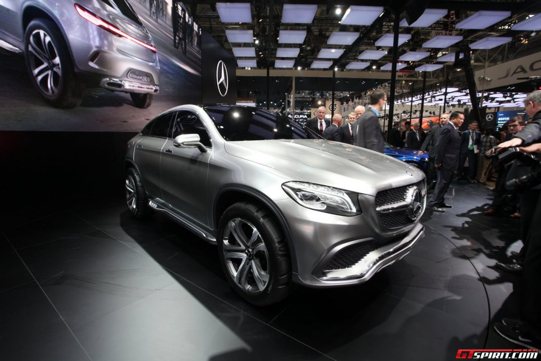auto china 2014 mercedes benz concept coupe suv gtspirit