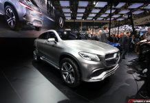 Auto China 2014: Mercedes-Benz Concept Coupe SUV