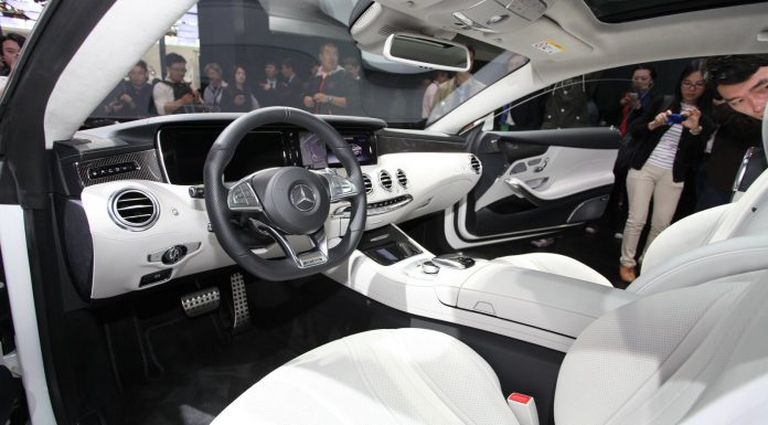 Mercedes-Benz S 63 AMG Coupe at Beijing Motor Show 2014