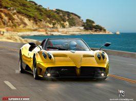 Pagani Huayra Roadster production