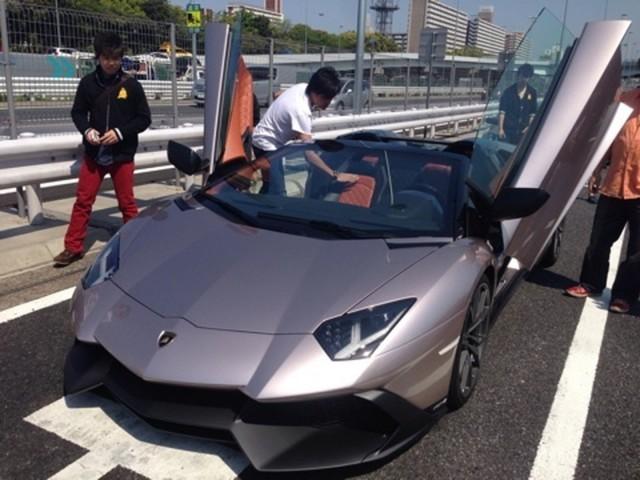 Spotted: One-off Bronzo Masaru Lamborghini Aventador LP720-4 in Tokyo