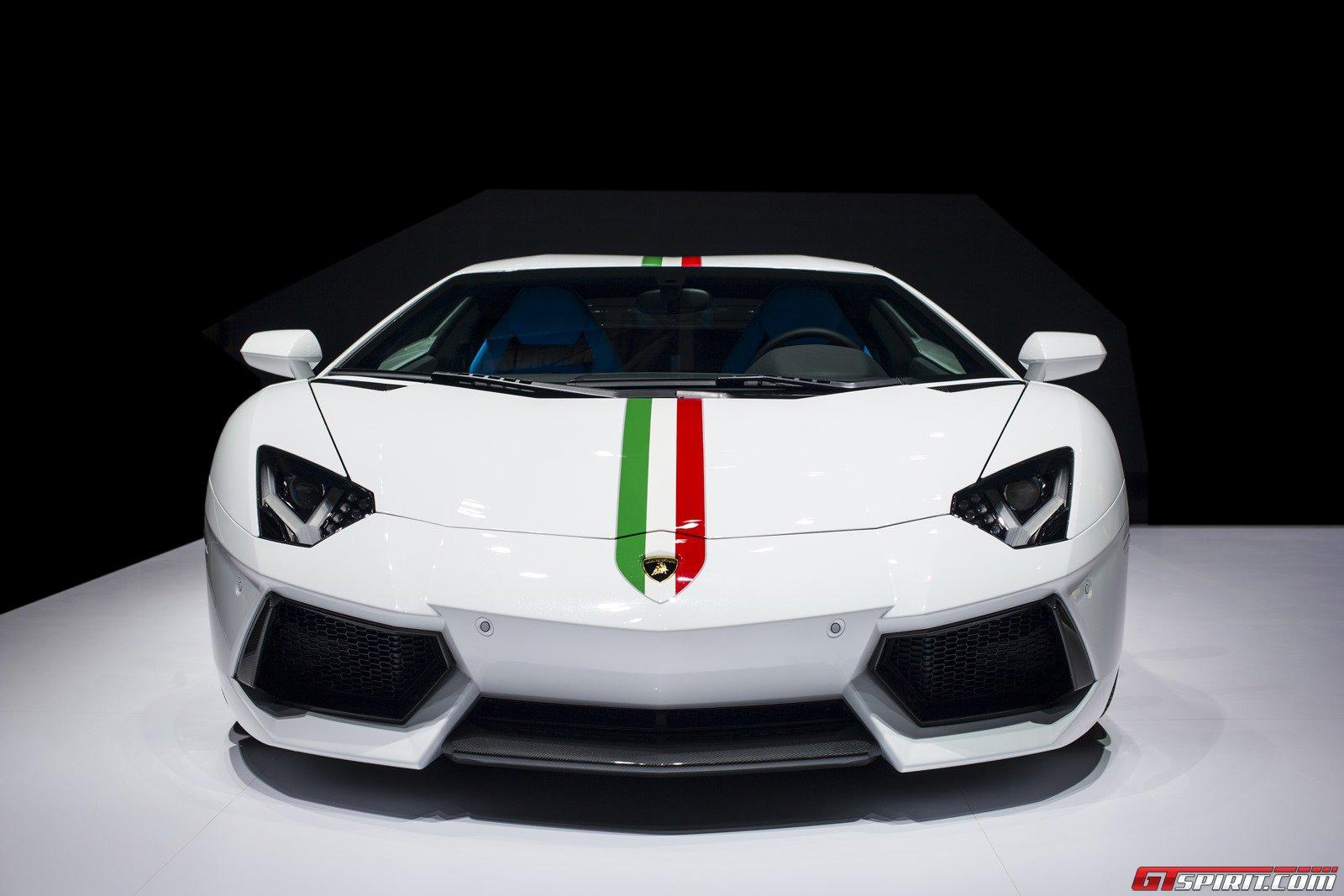 Official 2014 Lamborghini Aventador Nazionale Gtspirit