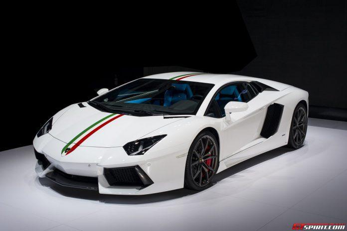 Official: Lamborghini Aventador Nazionale