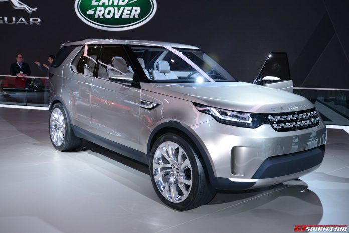 Land Rover Discovery Vision Concept at the New York Auto Show 2014