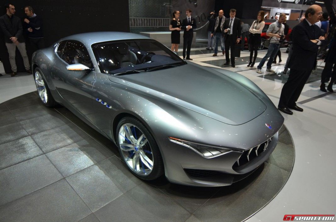 Maserati Alfieri Likely to be Confirmed for Production