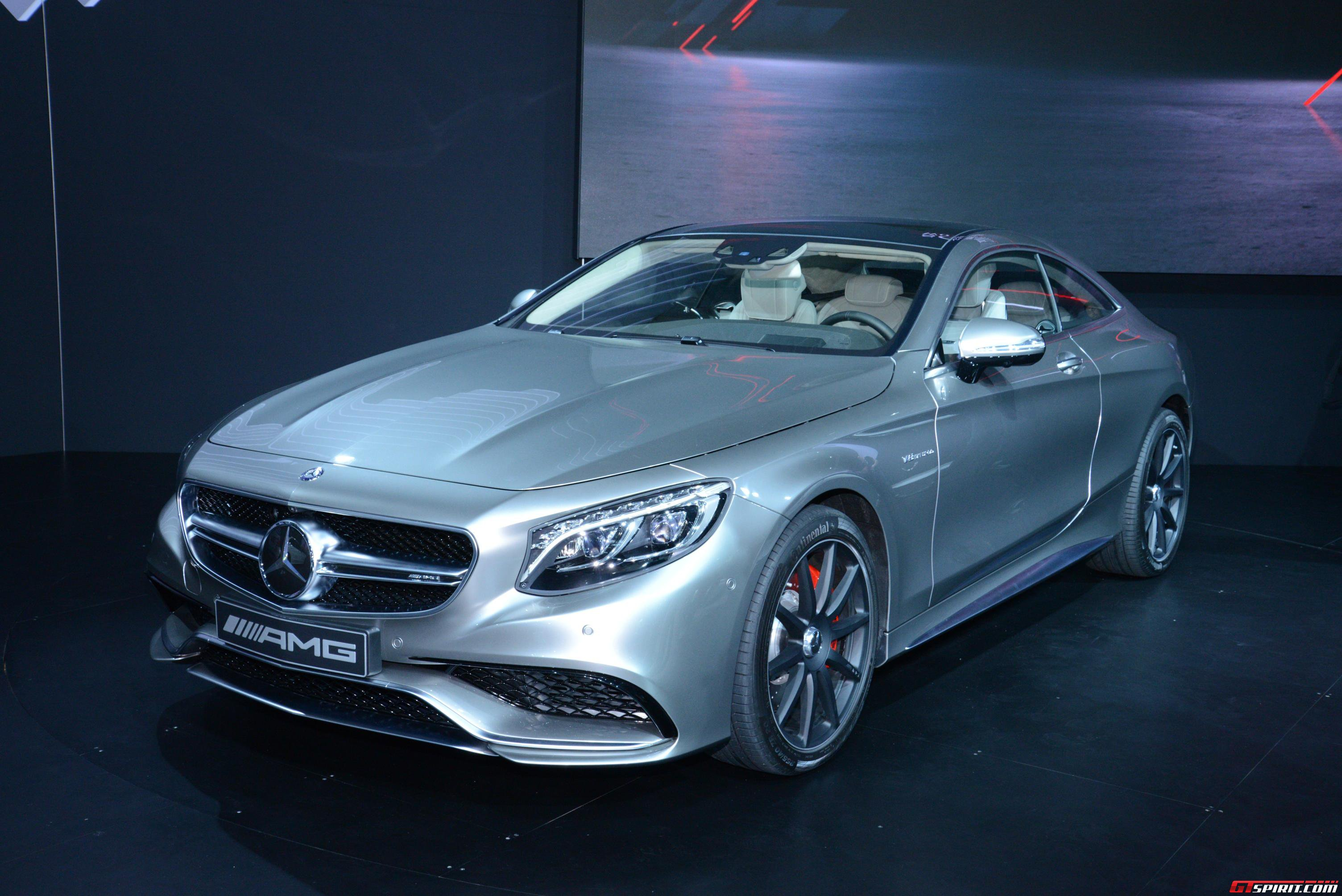 New York 2014: Mercedes Benz S63 AMG 4MATIC Coupe