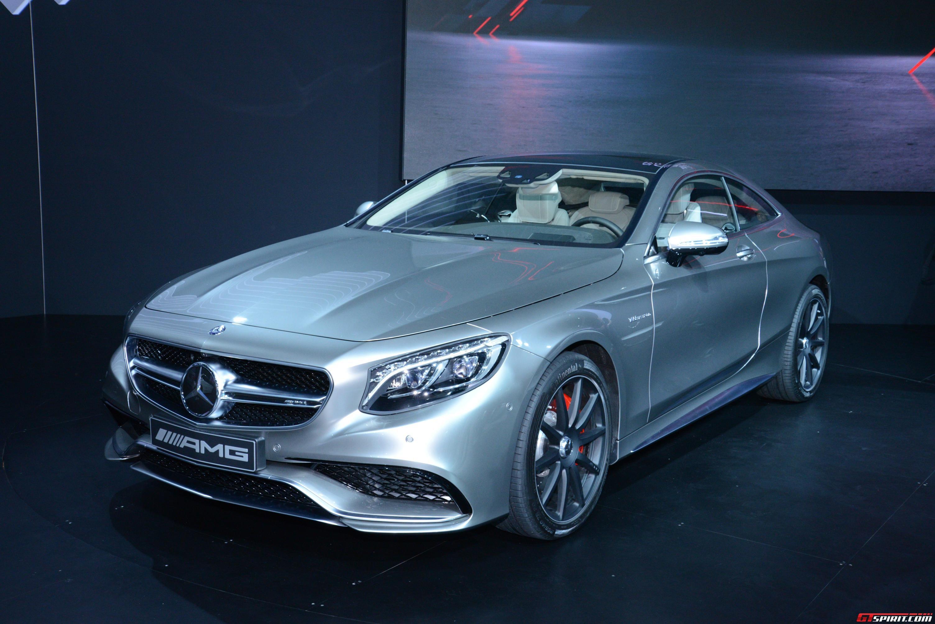 New York 2014: Mercedes-Benz S 63 AMG 4MATIC Coupe - GTspirit