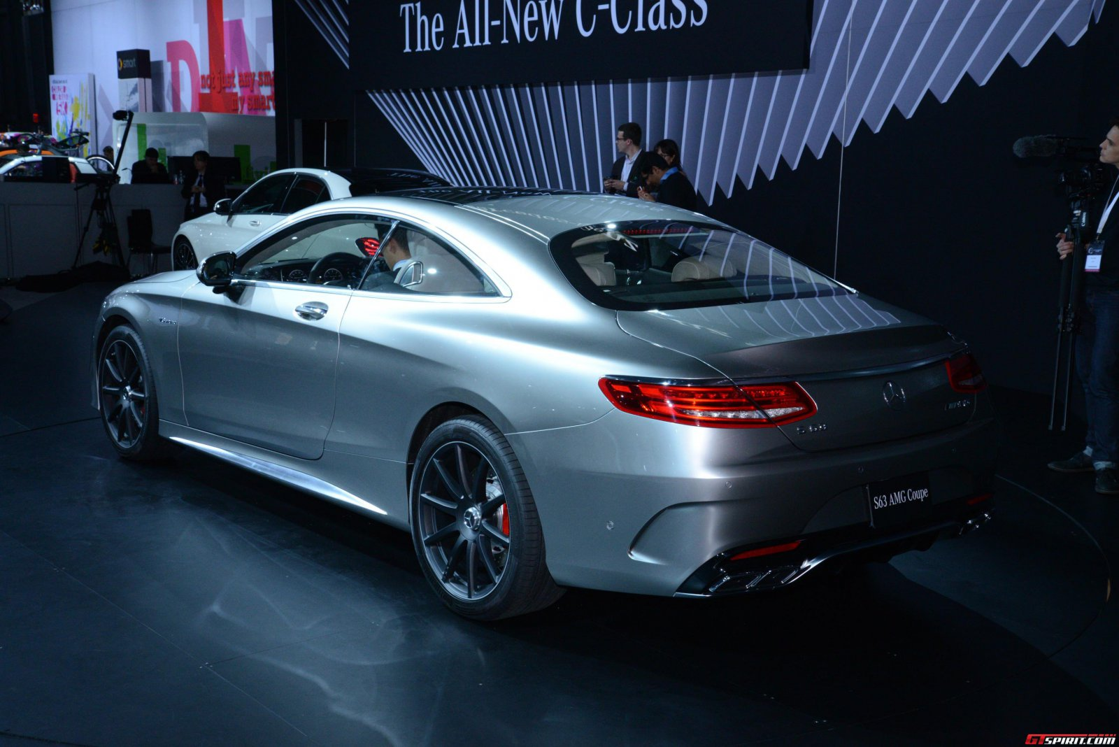 new york 2014 mercedes benz s 63 amg 4matic coupe gtspirit. Black Bedroom Furniture Sets. Home Design Ideas