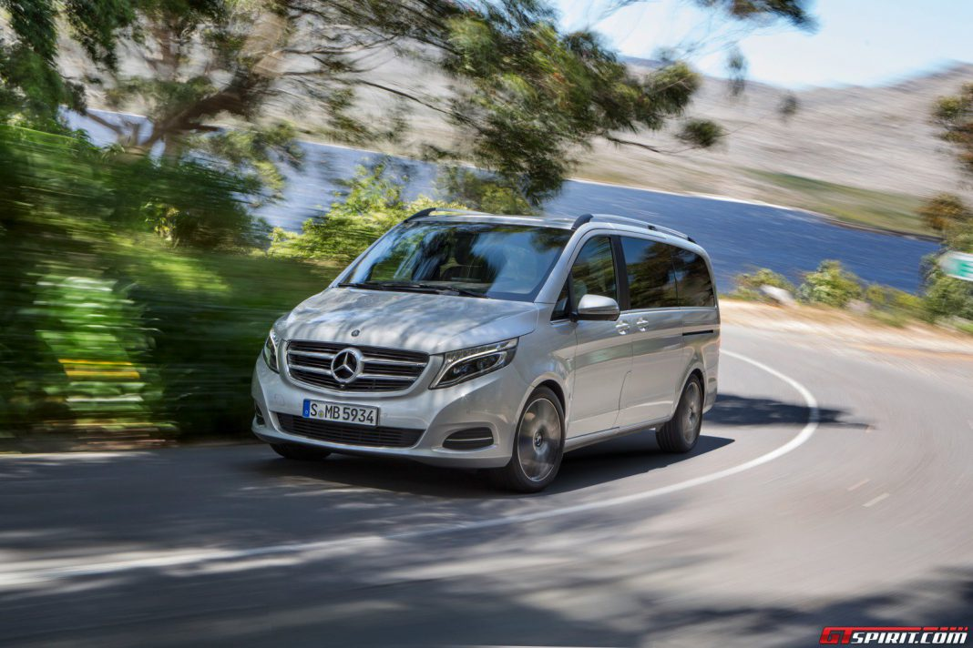mercedes benz v class review gtspirit. Cars Review. Best American Auto & Cars Review