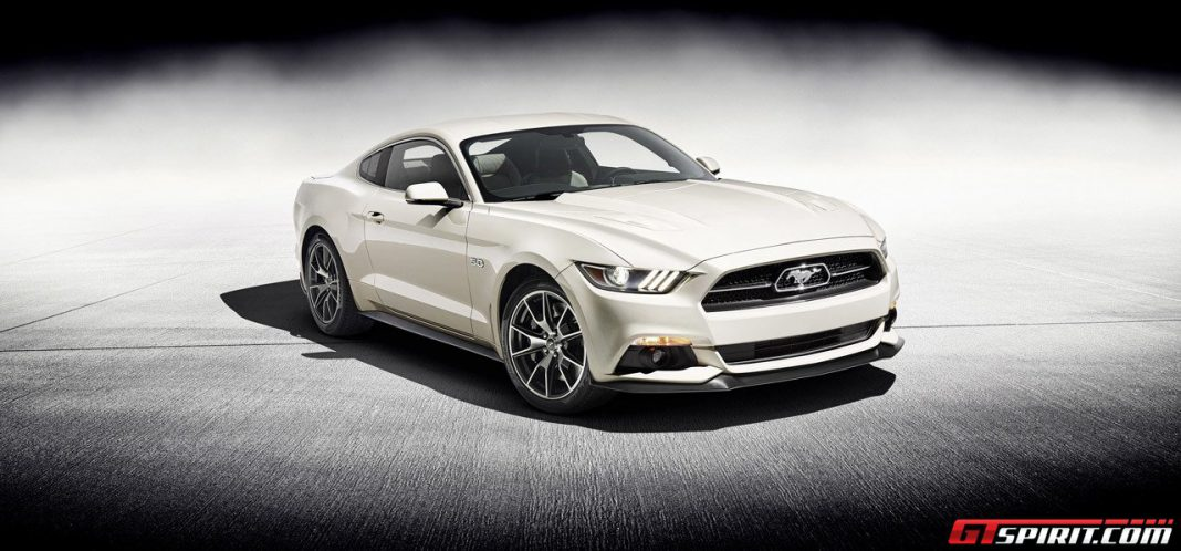Official: 2015 Ford Mustang 50 Year Limited Edition
