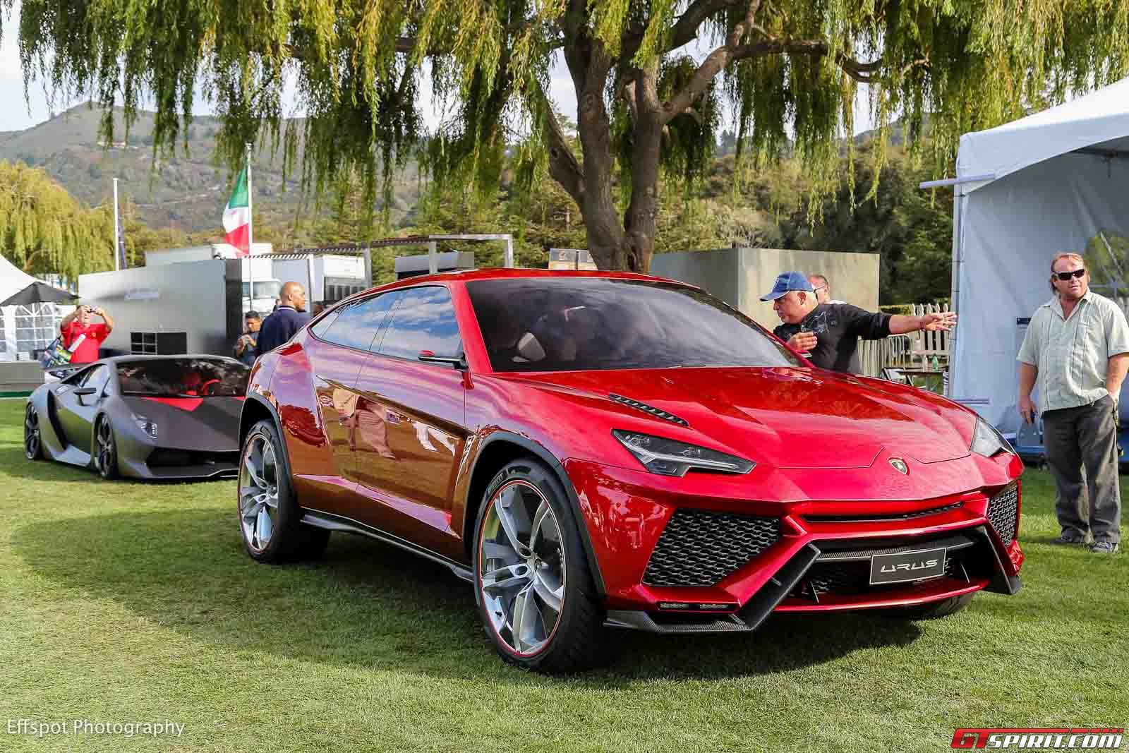 lamborghini suv on schedule for 2018 launch with urus styling gtspirit. Black Bedroom Furniture Sets. Home Design Ideas