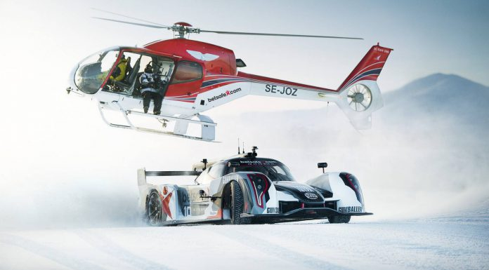 Jon Olsson Drifts His Rebellion R2K Uphill in the Snow!