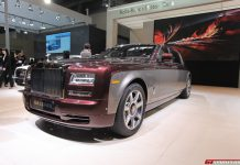 Rolls-Royce Pinnacle Travel Phantom at Beijing Motor Show 2014