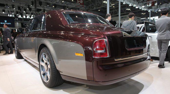 Rolls-Royce Pinnacle Travel Phantom at Beijing Motor Show 2014