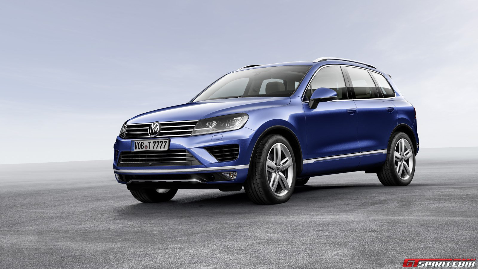 official 2015 volkswagen touareg gtspirit. Black Bedroom Furniture Sets. Home Design Ideas