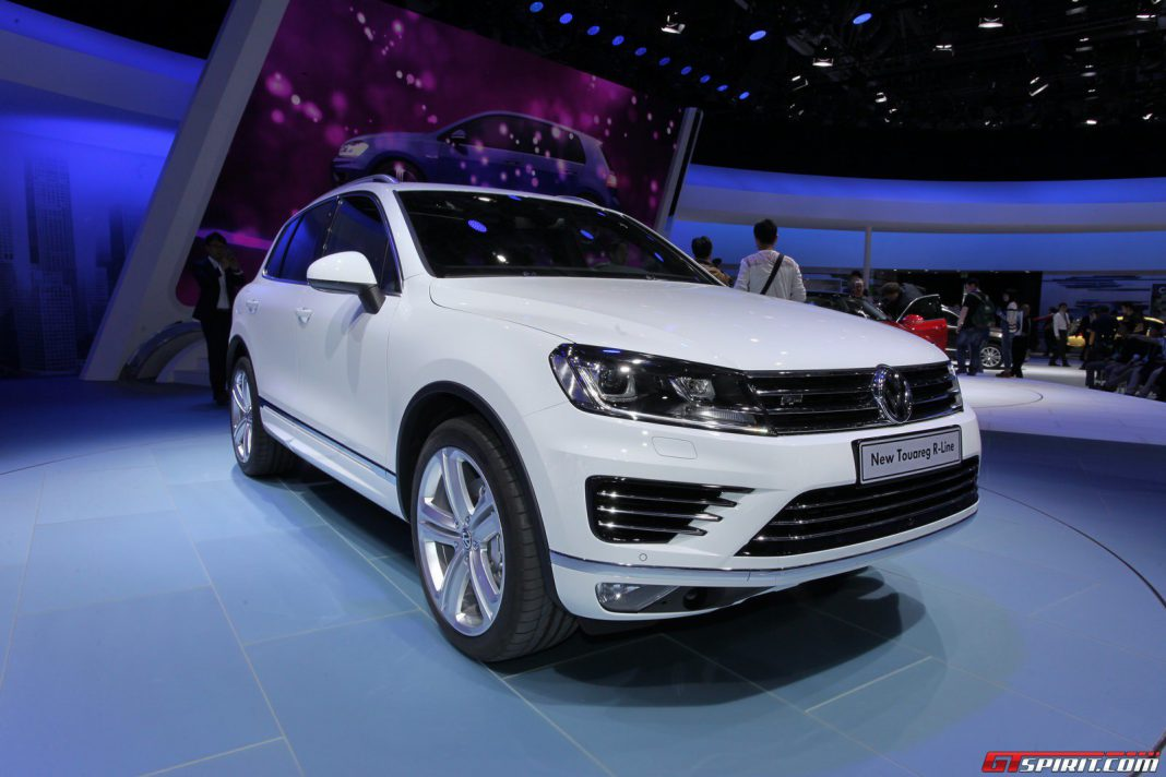auto china 2014 volkswagen touareg gtspirit. Black Bedroom Furniture Sets. Home Design Ideas