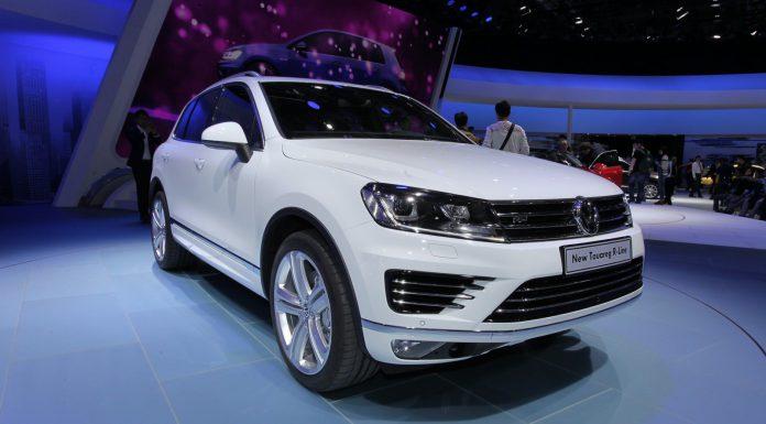 Volkswagen Touareg at Beijing Motor Show 2014