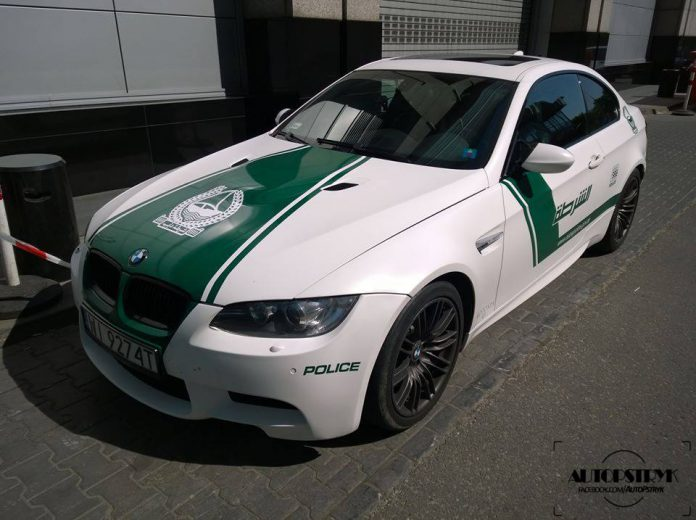 Dubai Themed BMW M3