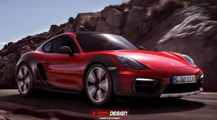 Porsche Cayman Safari