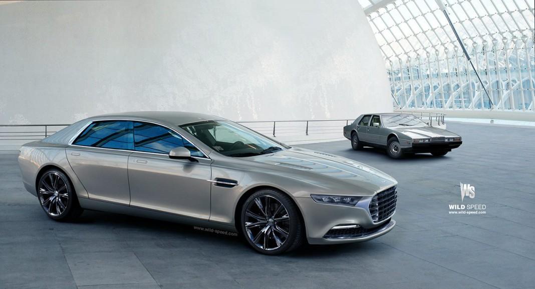 New Aston Martin Lagonda Sedan Rendered
