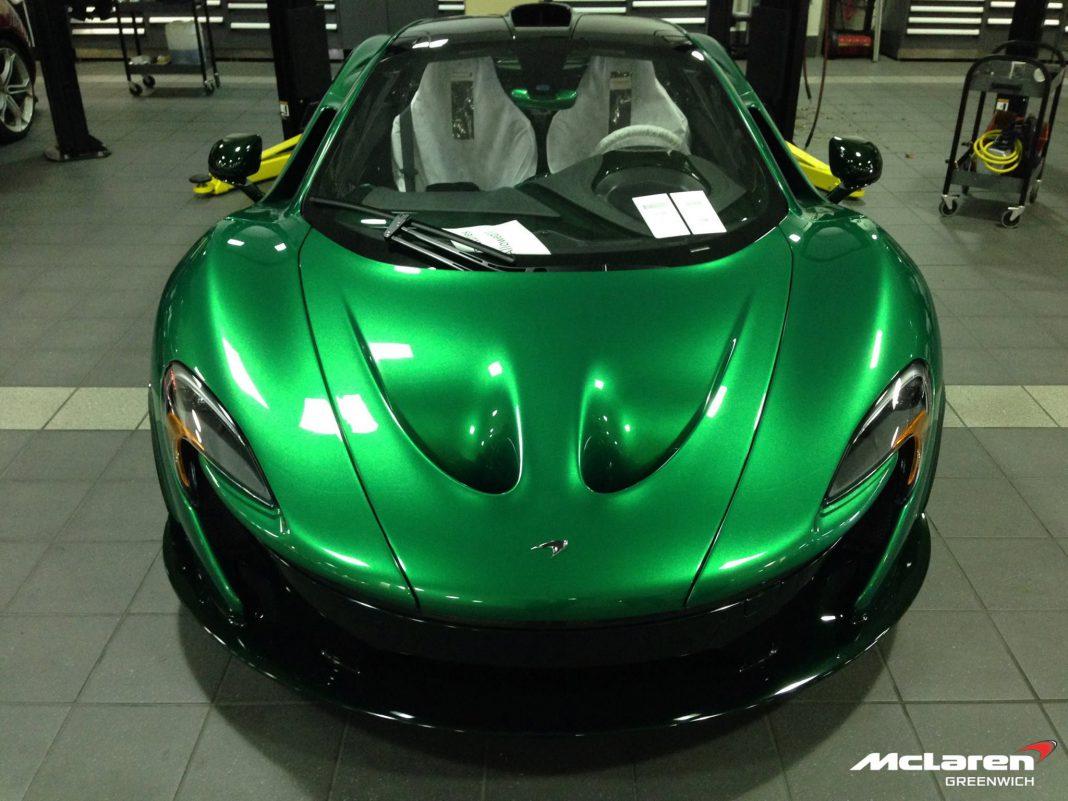 One-Off Green MSO McLaren P1