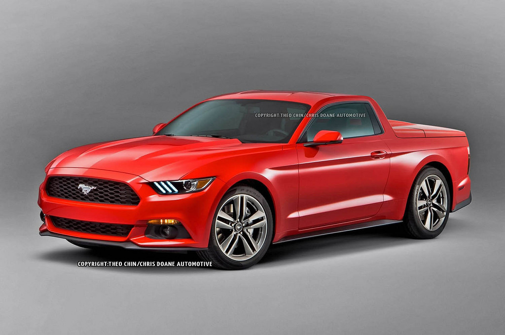 2015 Ford Mustang Pick-Up Truck? No Thanks