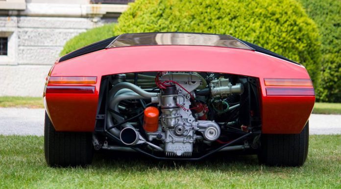 One-Off Fiat Abarth 2000 Scorpione