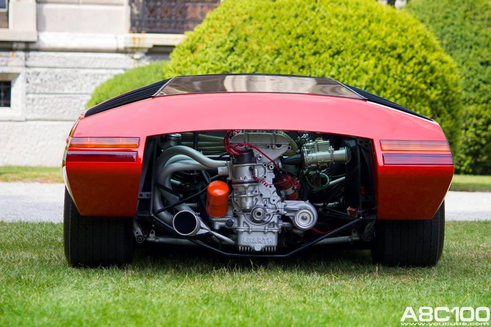 One-Off Fiat Abarth 2000 Scorpione